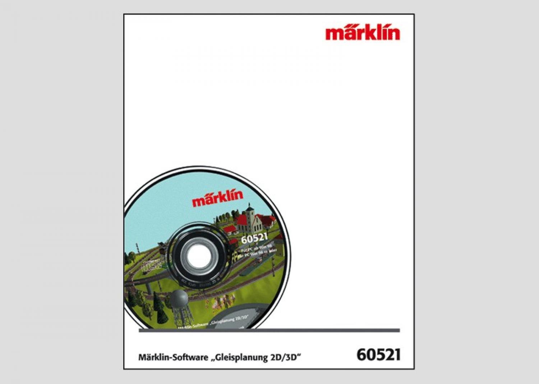 Märklin 60521 gleisplanungs-software 2d//3d versión 7.0
