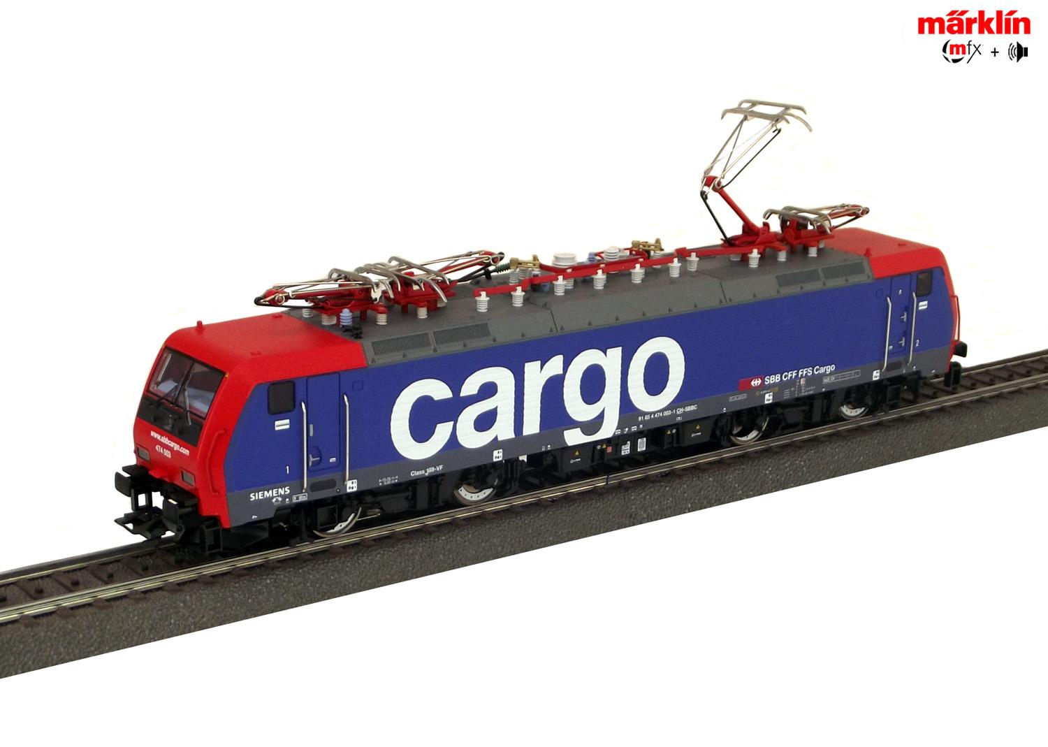 Märklin 29861-01 E-Lok Re 474 SBB-Cargo (mfx+/Sound)