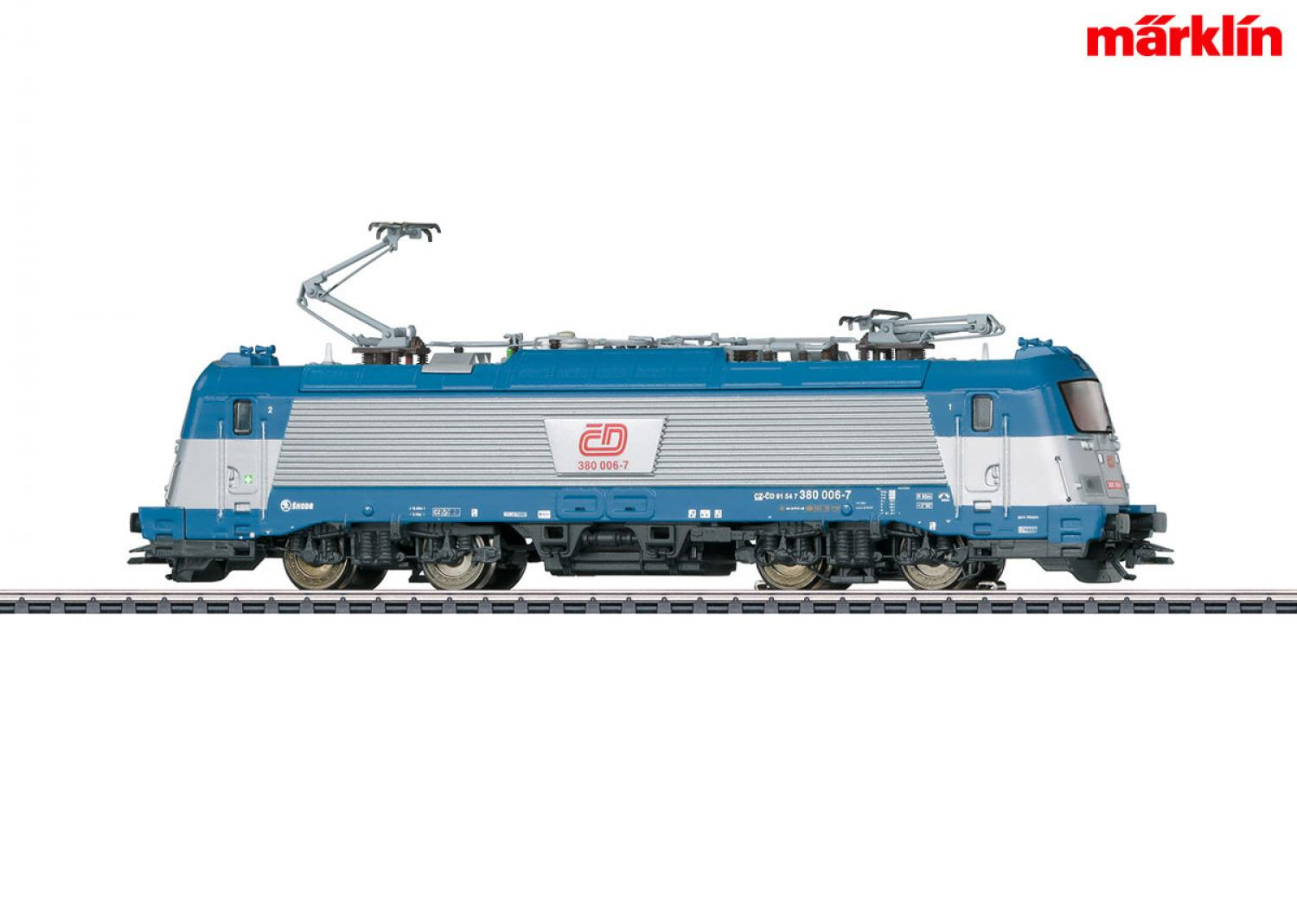 Märklin 36203 E-Lok BR 380 CD, Skoda (mfx/Sound)